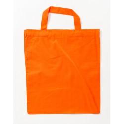Baumwolltragetasche bunt, kurze Henkel